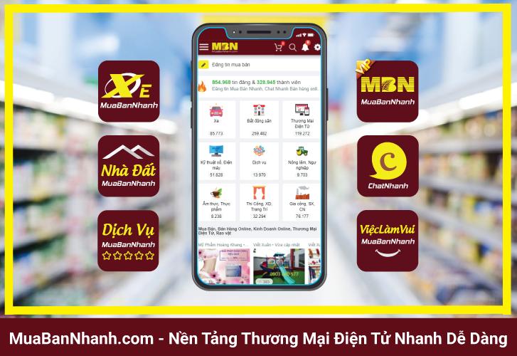 khởi nghiệp kinh doanh thương mại điện tử với MuaBanNhanh